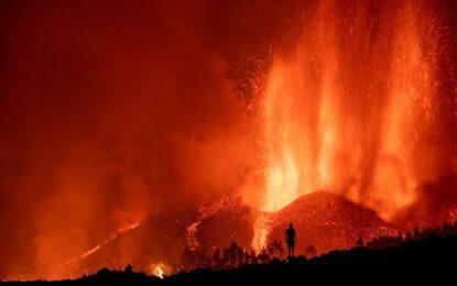 Erupción de volcán en España durará de 24 a 84 días, estiman