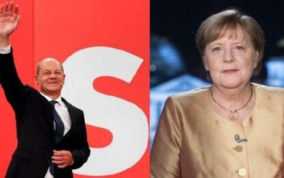 Fin de era Merkel: Pierde su partido las elecciones ante Olaf Scholz