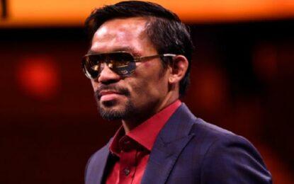 Manny 'Pac-Man' Pacquiao se retira oficialmente del boxeo