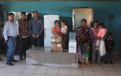 Priorizan dotación de desayunos en el municipio de Guadalupe y Calvo