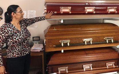 Cada vez más Parralenses pagan su funeral