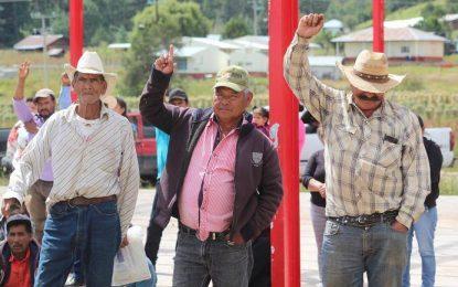 Firman acuerdos para prevenir incendios forestales en Gpe y Calvo