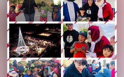 Concluyen Posadas Navideñas en Allende, visitan Jenny y Mayra Figueroa las 18 comunidades