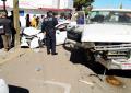 Aparatoso accidente en la colonia Altavista; cuantiosos daños materiales