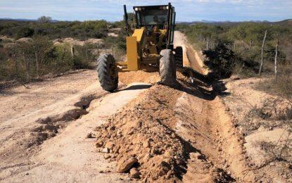 Avance de 80 kilómetros en el rastreo anual de caminos rurales en Parral