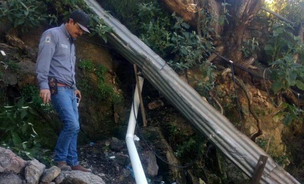 Atiende Municipio reportes de daños por lluvias en Gpe y Calvo