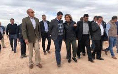 Comprometido Corral con dar apoyo en obra pública a Maru Campos