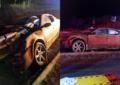 Impacta su vehículo contra barras de contención en rúa a Durango y fallece al instante