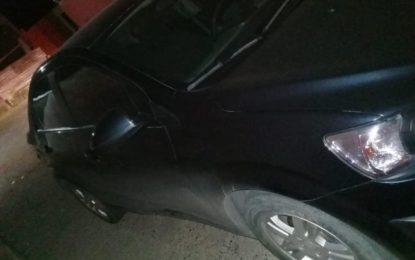 Localizan un Chevrolet Sonic con reporte de robo en la colonia El Parque