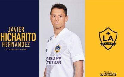 LA Galaxy presenta oficialmente al Chicharito