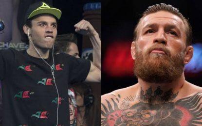 Dice Chávez Jr. que él noquearía a McGregor en menos de ocho rounds
