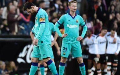 Derrota Valencia al Barcelona y exhibe mala inicio de Setién
