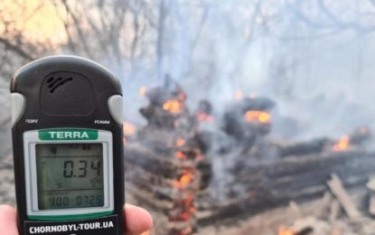 Aumenta radiación en Chernobyl 16 veces más tras incendios forestales