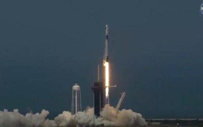Histórico: Lanzó SpaceX el Dragon, su primera misión de astronautas