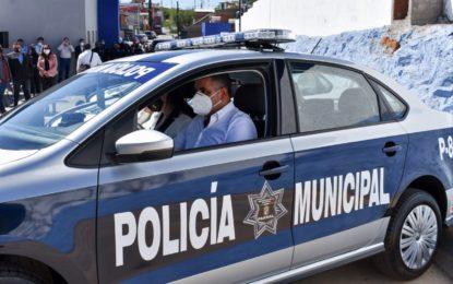 Entrega Lozoya equipamiento a la DSPM y anuncia el próximo inicio de la  Ciudad del Policía