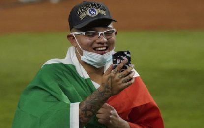 Julio Urías establece nueva marca tras título con los Dodgers