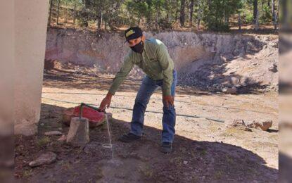 Supervisan Noel Chávez obras de alto impacto en la sección de San Julián