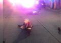 Choca contra un motociclista en la col. Almanceña y huye