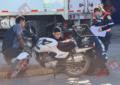 VIDEO: Choque en la PRI deja un motociclista lesionado