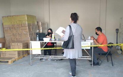 Continúa entrega de Despensas en el DIF Municipal