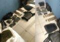 Aseguran droga, equipo táctico y cartuchos en el municipio de López