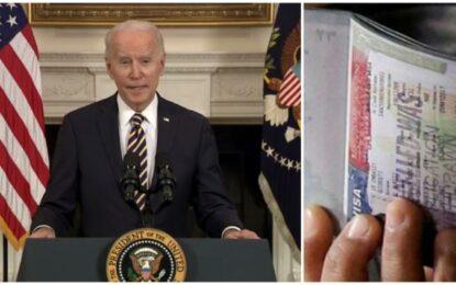 Reabre Joe Biden puerta a visas de trabajadores