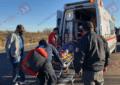 VIDEO: Volcadura en la Parral-Matamoros deja un lesionado