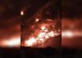 Arde cerro en Perimetral Norte