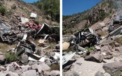 Una persona fallecida tras accidente de carretera Guadalupe y Calvo – Parral