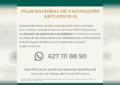 Invitan a adultos mayores a aplicarse la vacuna anticovid-19