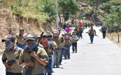 Niños de entre 6 y 11 años se integran a Policía en Guerrero