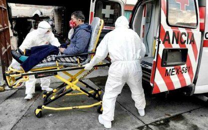 Registra México 874 muertes por COVID en 24 horas