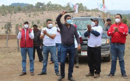 Julio César Chávez Ponce agradece el apoyo del pueblo