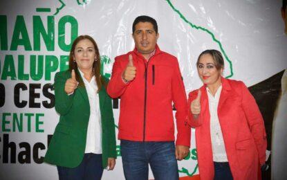 Julio César Chávez Ponce enfocado en el progreso de Guadalupe y Calvo