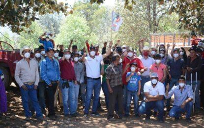 Anuncia Julio César Chávez Ponce fortalecimiento a sistemas de agua potable en Guadalupe y Calvo