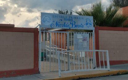 Da positivo a COVID alumno de primer grado de la primaria Nicolás Bravo