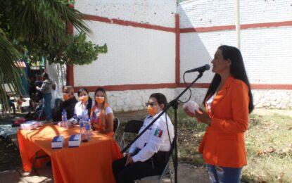 Arranca Instancia de la Mujer programa Enlace Punto Naranja