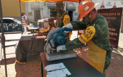 Inicia campaña de canje de armas en Parral