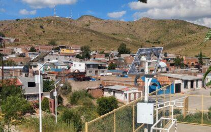 Destruidos paneles solares del centro comunitario en la Héroes de la Revolución