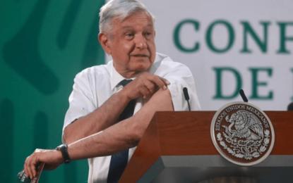 """""""Es de sabios cambiar de opinión"""": AMLO pide vacunarse contra COVID-19"""