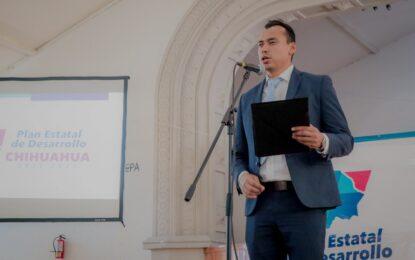 El Alcalde César Peña agradece  a la Gobernadora Maru Campos realizar el Foro de Desarrollo Humano  en Parral